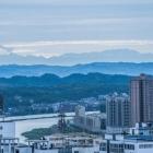 简阳也能眺望雪山