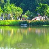 浣花溪公园景...
