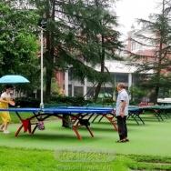 雨中乒乓赛