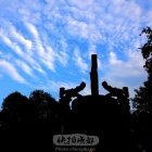 蓉城蓝天白云