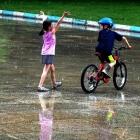 雨中洋娃娃