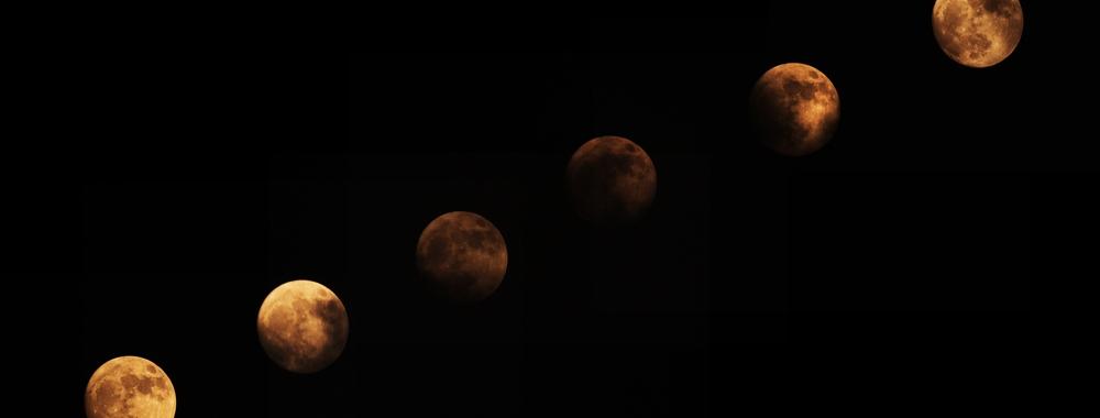 """""""变脸""""的月亮"""