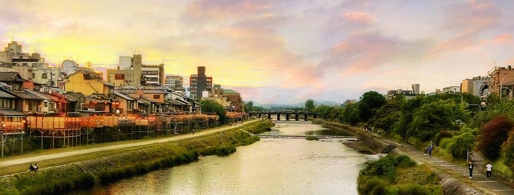 京都鸭川河