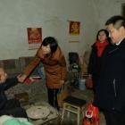 洪雅县新联会公益暖冬行动深入特困家庭开展慰问