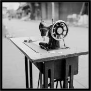 老式缝纫机