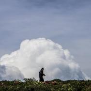 小心,白云袭...